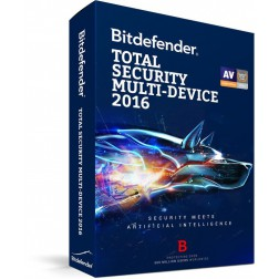BitDefender Total Security 2016 Retail (2 Jaar / 5 Users)