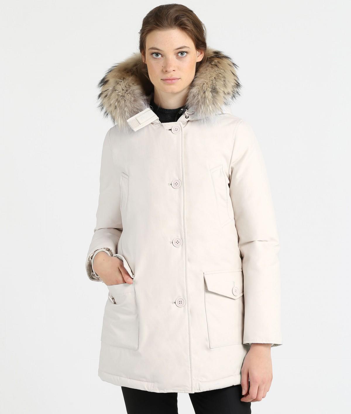 Woolrich Arctic Parka Dames WitRoze Maat S