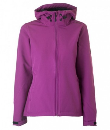 Brunotti Raelyn Softshell Jas Dames - Paars