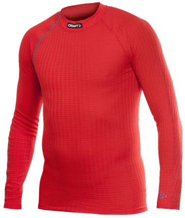 Craft Active Extreme Crewneck Longsleeve Thermoshirt Rood Heren