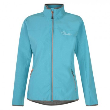 Dare 2B Centra Dames Softshell Jas - Seabreeze