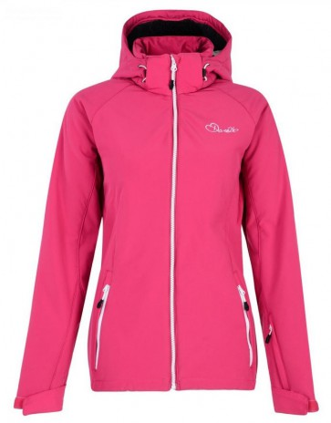 Dare 2b Compile Winter Softshell Jas Dames - Roze