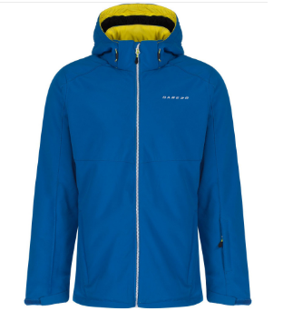 Dare 2b Reconsile Heren Winter Softshell Jas - Oxford Blauw