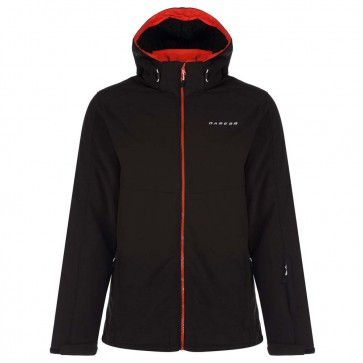 Dare 2b Reconcile Heren Winter Softshell Jas - Zwart
