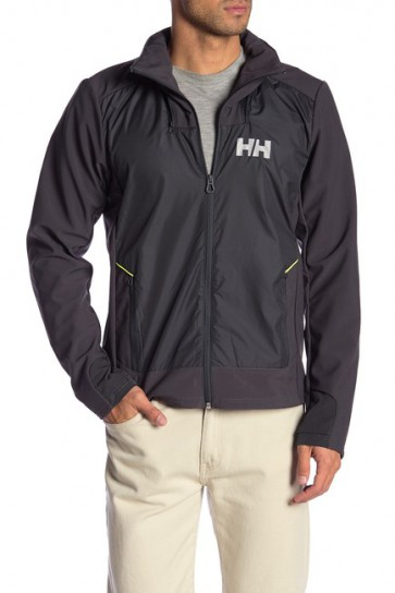 Helly Hansen HP Hybrid Softshell Jas Heren - Ebony