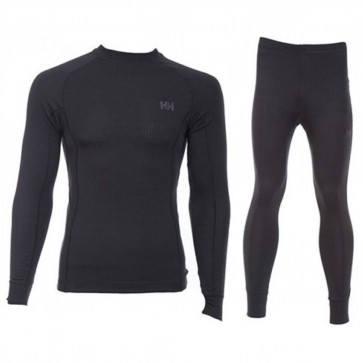 Helly Hansen Longsleeve thermoshirt en thermobroek thermoset - Heren - Zwart