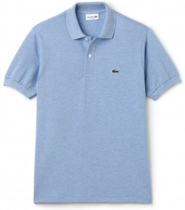 Lacoste – Classic Fit Piqué Polo – Polo Valerian Chine - Heren