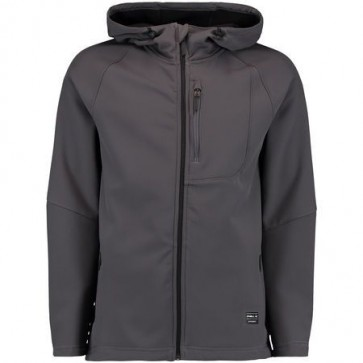 O'Neill Exile Heren Softshell Jas - Grijs