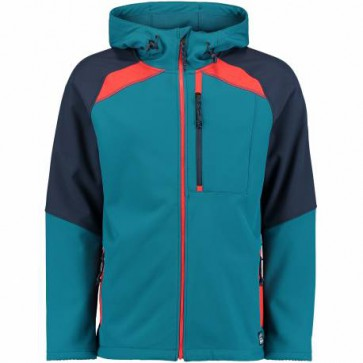 O'Neill Exile Heren Softshell Jas - Lyons Blue