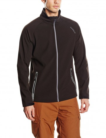 O'Neill Exile Heren Softshell Jas - Black Out