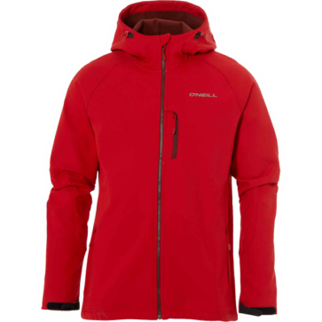 O'Neill Exile Heren Softshell Jas - Rood