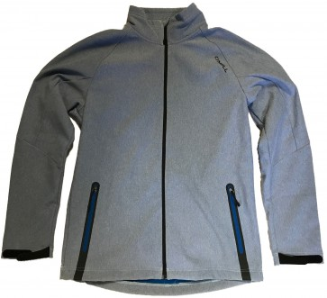 O'Neill PMSS Exile Premium Heren Softshell Jas - Snorkel Blue - Maat M