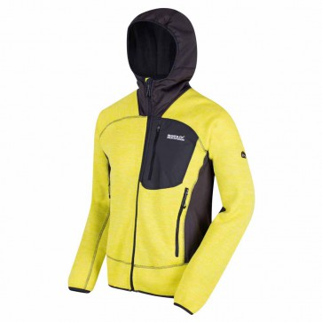 Regatta Cartersville III Fleece Jas Heren - Neon Spring
