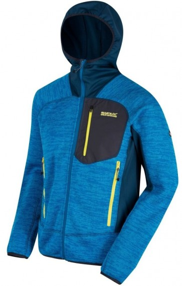Regatta Cartersville III Fleece Jas Heren - Petrol Blue