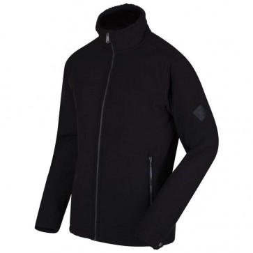 Regatta Castiel Softshell Winter Jas Heren - Zwart