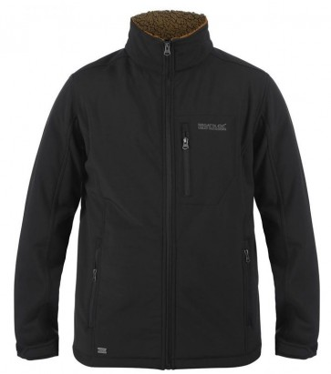 Regatta Cato III Softshell Winter Jas Heren - Zwart