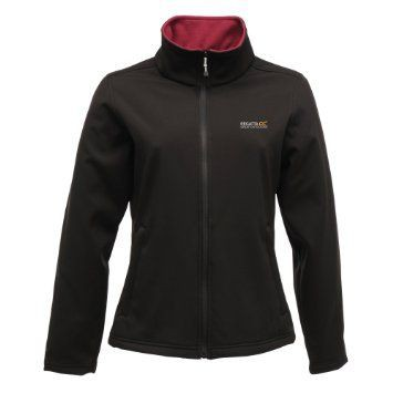 Regatta Connie II Softshell Jas Dames Zwart