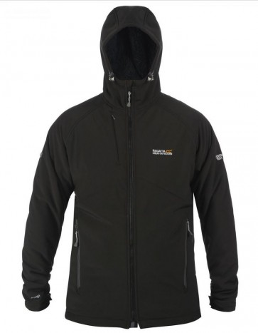 Regatta Frostburg Softshell Winter Jas Heren - Zwart