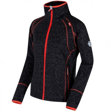 Regatta Harty Softshell Jas Dames - Zwart