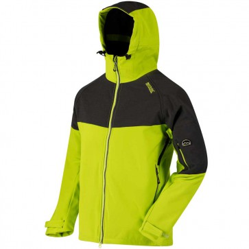 Regatta Hewitts III Heren Winter Softshell Jas - Lime Green