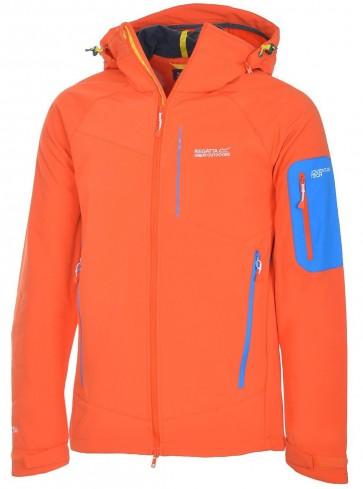 Regatta Hewitts Winter Softshell Jas Heren - Oranje