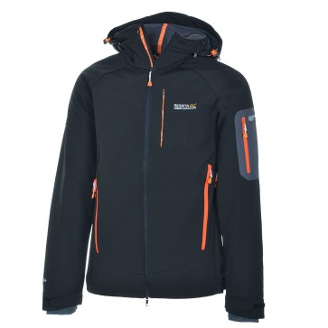Regatta Hewitts Winter Softshell Jas Heren - Zwart
