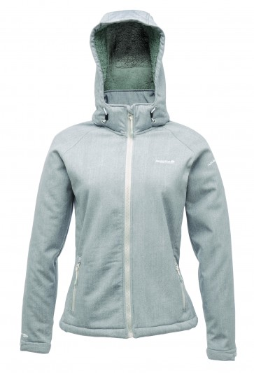 Regatta Martina Softshell Jas Dames - Grijs