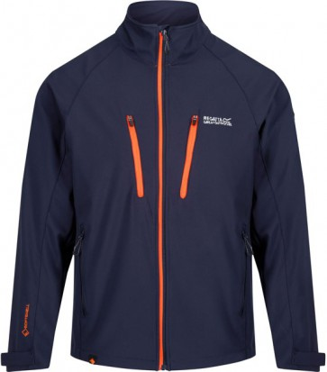 Regatta Nielson V Softshell Jas Heren - Navy