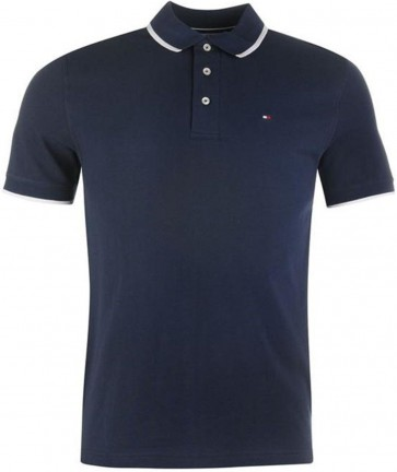 Tommy Hilfiger Heren Polo - Navy