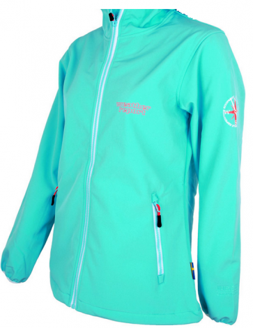 Weather Report Candy Softshell Jas Dames - Turquoise