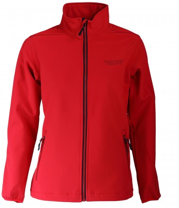 Weather Report Simon Softshell Jas Heren - Rood