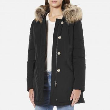Woolrich Luxury Arctic Parka Dames Zwart - Maat M