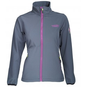 Weather Report Candy Softshell Jas Dames - Grijs