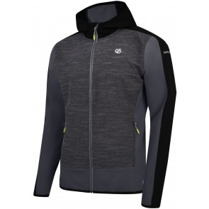 Dare 2b Appertain II Heren Softshell Jas - Charcoal
