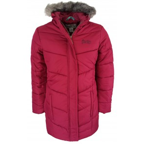 Regatta Blissful Meisjes Parka Winterjas - Rood