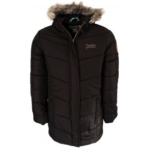 Regatta Blissful Meisjes Parka Winterjas - Zwart