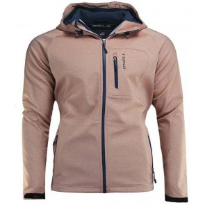 O'Neill Exile Heren Softshell Jas - Dune Orange