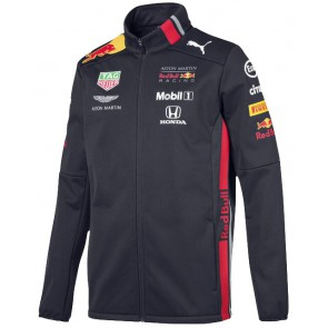Red Bull Honda Aston Martin Racing Team Softshell Jas Heren - Donkerblauw