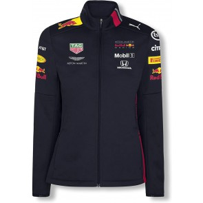 Red Bull Honda Aston Martin Racing Team Softshell Jas Dames - Donkerblauw