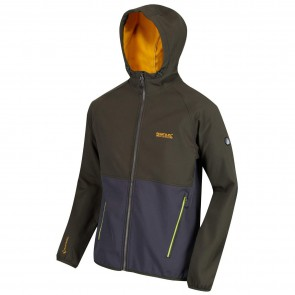 Regatta Arec II Softshell Jas Heren - Dark Khaki