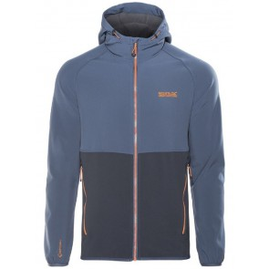 Regatta Arec II Softshell Jas Heren - Navy-Denim