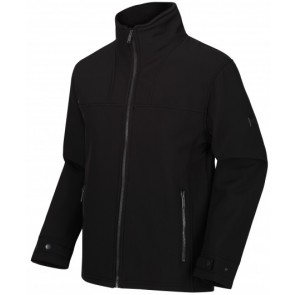 Regatta Conlan Softshell Winter Jas Heren - Zwart