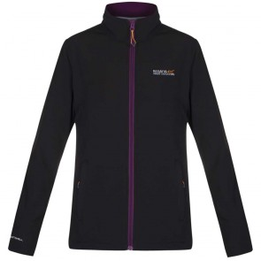 Regatta Connie III Softshell Jas Dames - Zwart