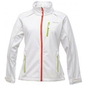 Regatta Erika Dames Softshell Jas - Wit