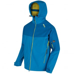 Regatta Hewitts III Heren Winter Softshell Jas - Petrol Blauw