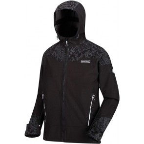 Regatta Hewitts V Heren Winter Softshell Jas - Zwart