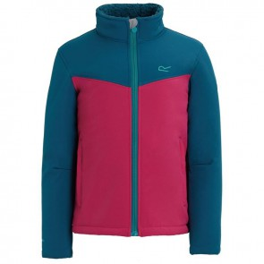 Regatta Rivendale Softshell Kinderjas - Blauw