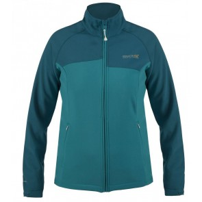 Regatta Wmns Nebraska II Softshell Winter Jas Dames - Blauw