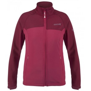 Regatta Wmns Nebraska II Softshell Winter Jas Dames - Roze