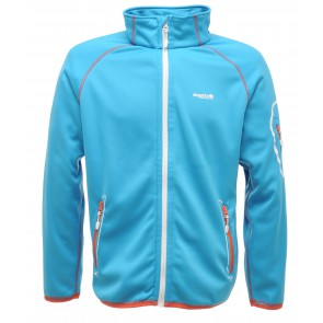 Regatta Womens Deadbolt Softshell Jas Dames - Licht Blauw